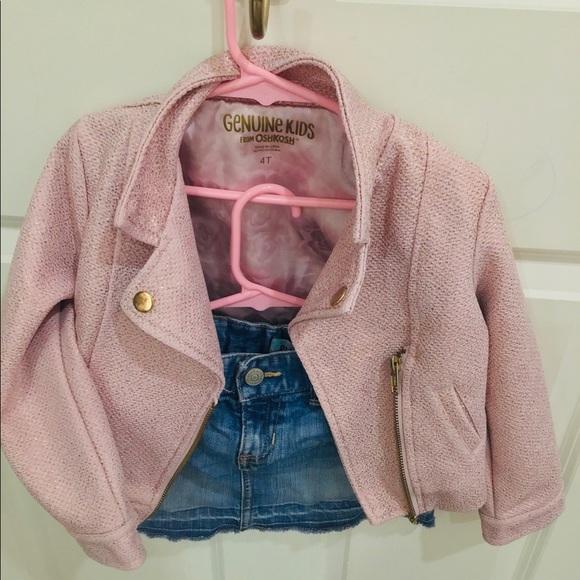 Other - Chaqueta y falda para niñas